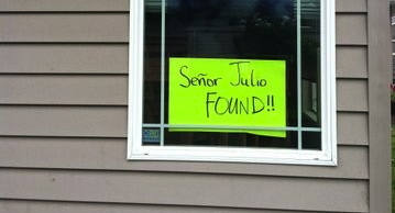 The Saga of Señor: home now after 35 days missing