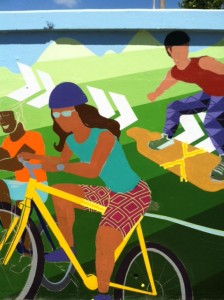 Bike in Mural
