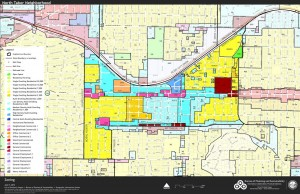 Existing Zoning, June 7, 2013