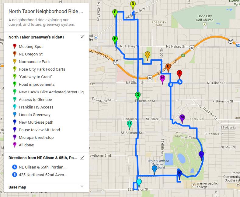 Ride around the neighborhood and other updates