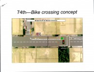 Halsey Crossing Concept at 74th