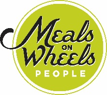 Meals on Wheels People Seeks Volunteers