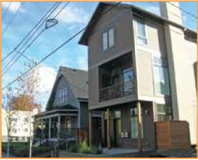 """""""Seismically Upgraded Multifamily Dispersed Density"""" concept materials"""