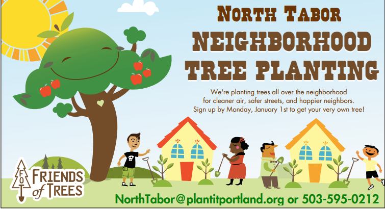 Friends of Trees signup deadline is Jan. 1