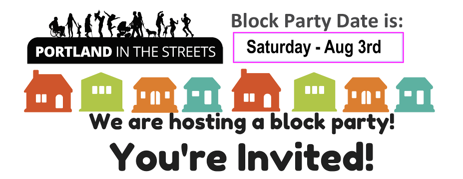 Block Party, Saturday August 3