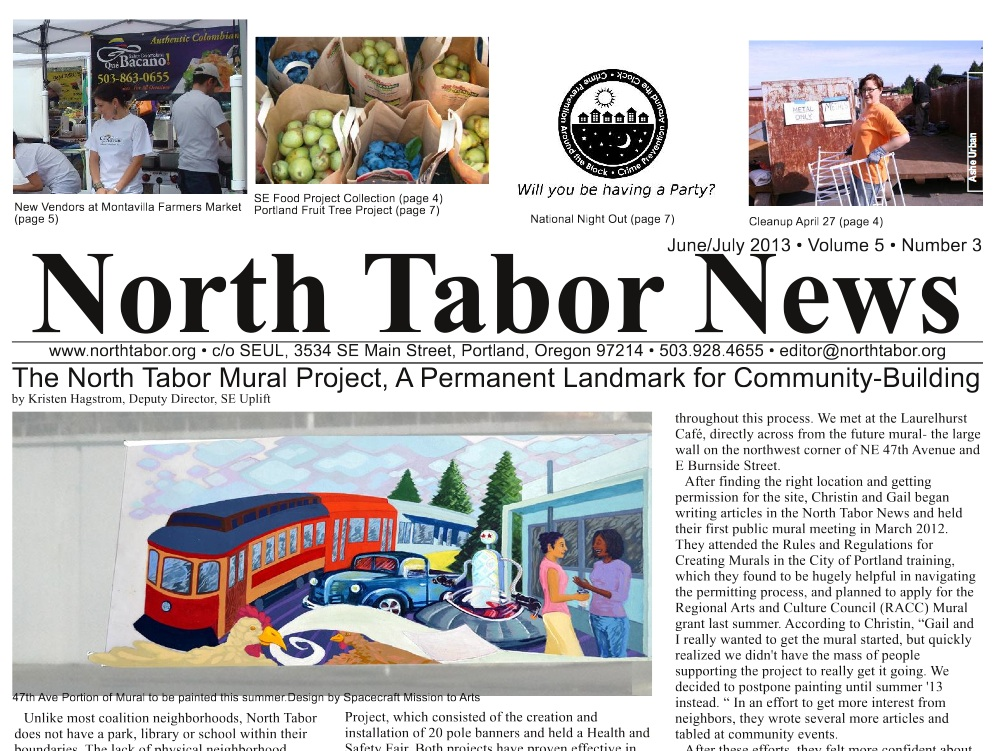 June/July North Tabor News available online