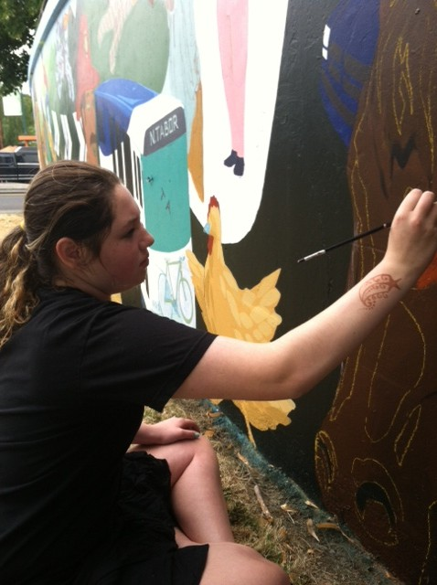 Photos from the Mural Project