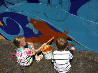 Final community paint day