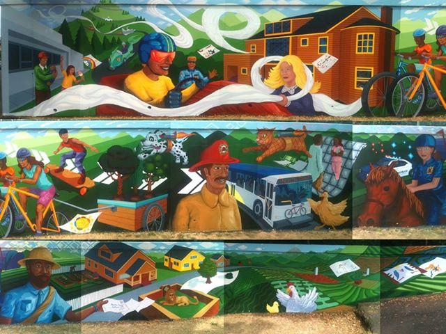 North Tabor Equinox & Mural Celebration: Saturday, September 21