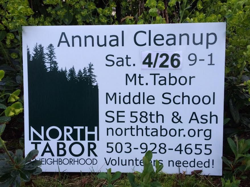 Details for the North Tabor / Mount Tabor Cleanup