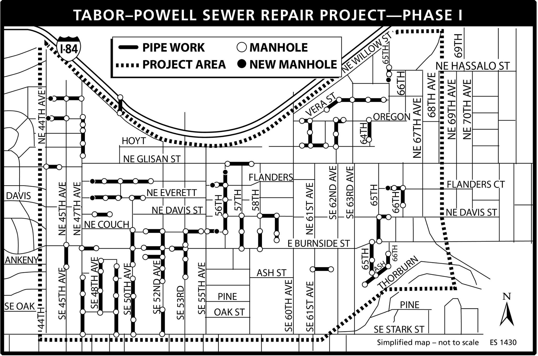 Sewer repairs scheduled early 2015