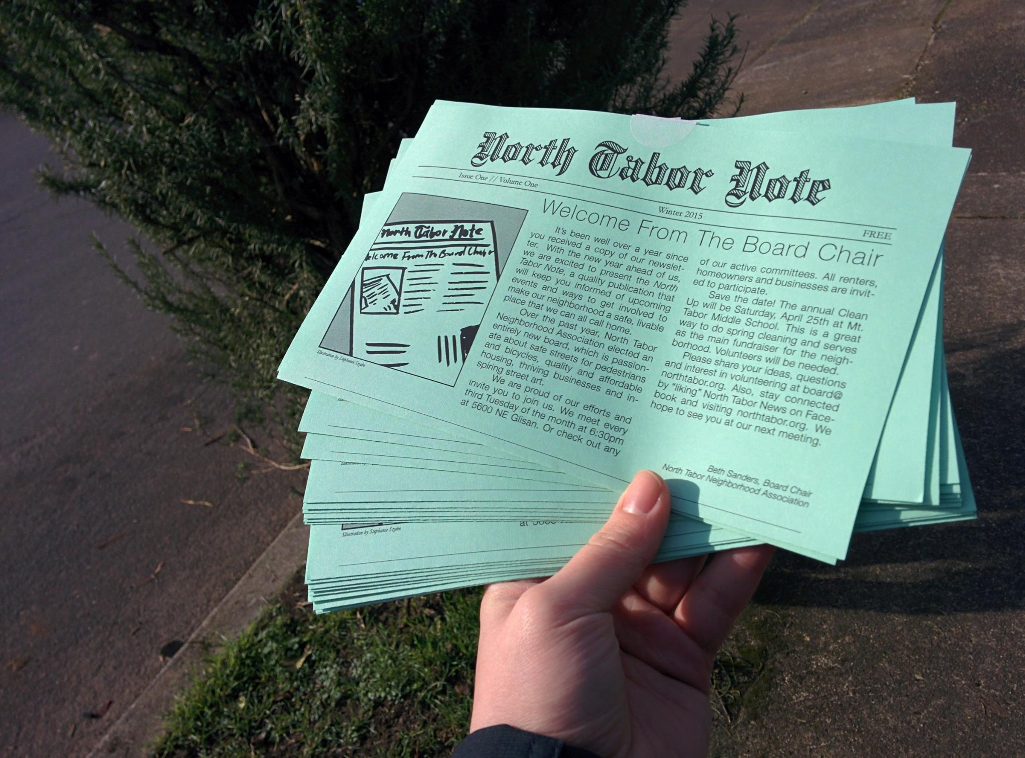 North Tabor Newsletters