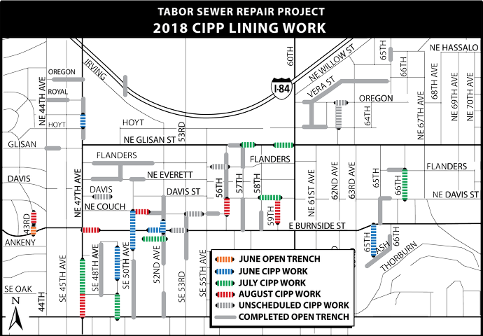 Tabor Sewer Project: 2018 Pipe Lining Work